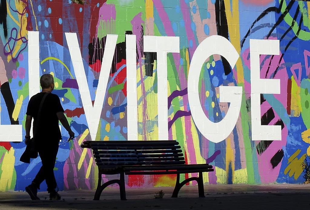 Fotografía Bellvitge de Luis Vidal para su Exposición Gente Corriente