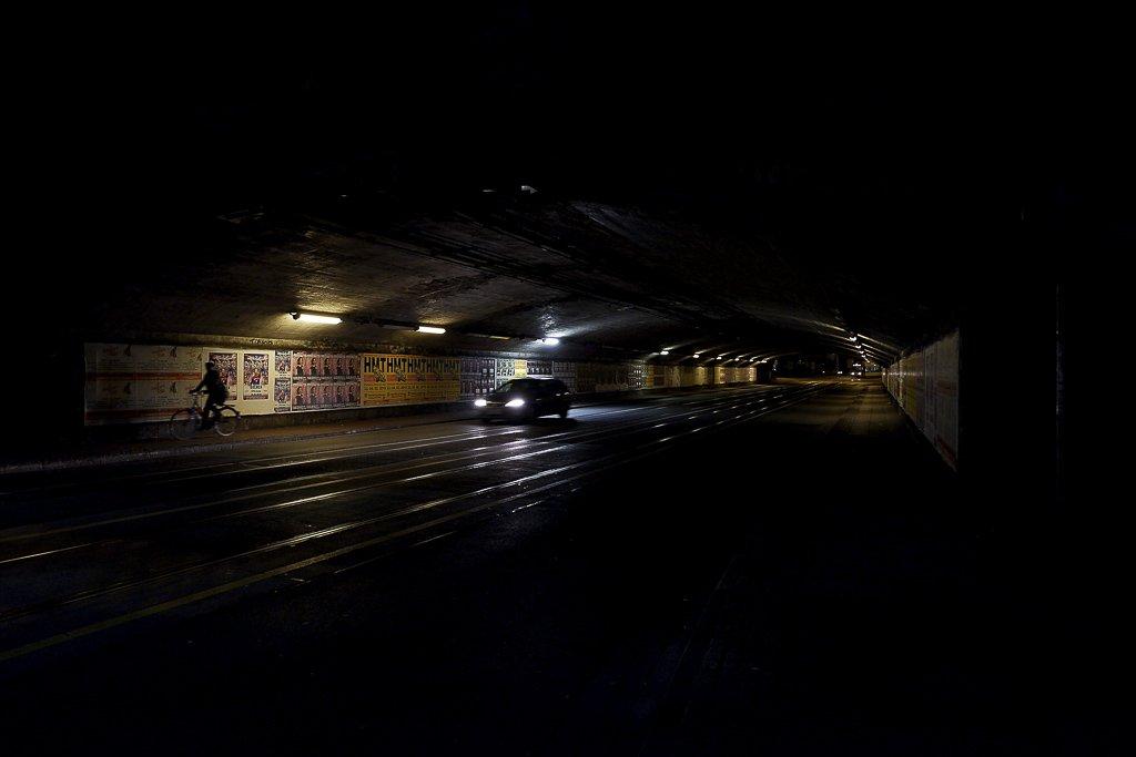Fotografía El Túnel de Luis Vidal para Gente Corriente